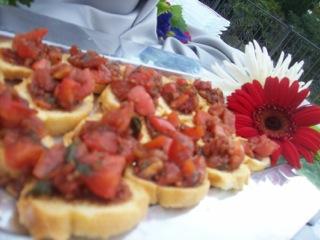Delicious and Fresh Tomato Basil Bruschetta